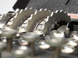 Enigma machine courtesy of Simon Singh