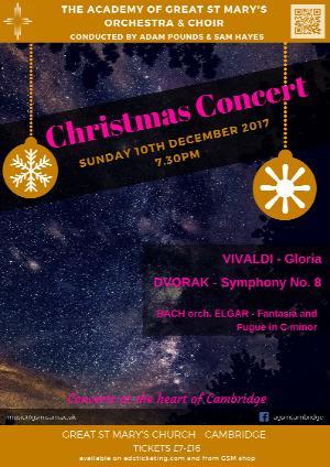 10 Dec concert poster