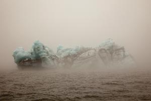 Ice Mountain, Jokulsarlon, Iceland, 2011