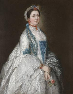 Thomas Gainsborough, Lady Margaret Downing, ca. 1763. Oil on canvas.