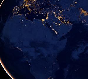 NOAA night time lights Africa