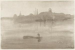 James McNeill Whistler, Nocturne: The River at Battersea, 1878