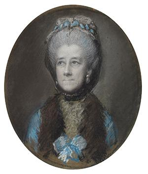 Thomas Gainsborough, Portrait of Gertrude Leveson-Gower, 4th Duchess of Bedford, c.1767