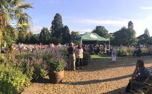 Cambridge Summer Music presents open air live music on the Main Lawn at Cambridge University Botanic Garden