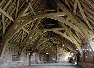 Crucks Leigh Court Barn Leigh (Nat Alcock)